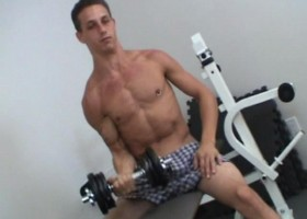 Lifting Weights and Jerking Off
