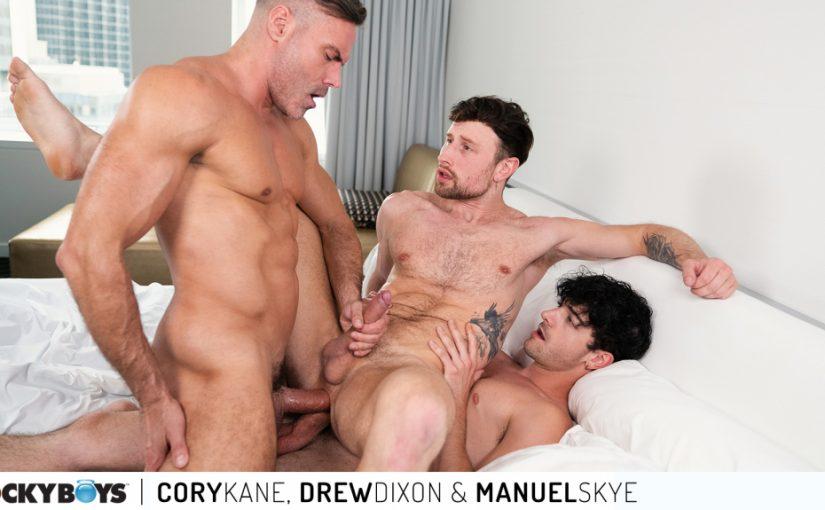 Cory Kane, Drew Dixon & Manuel Skye